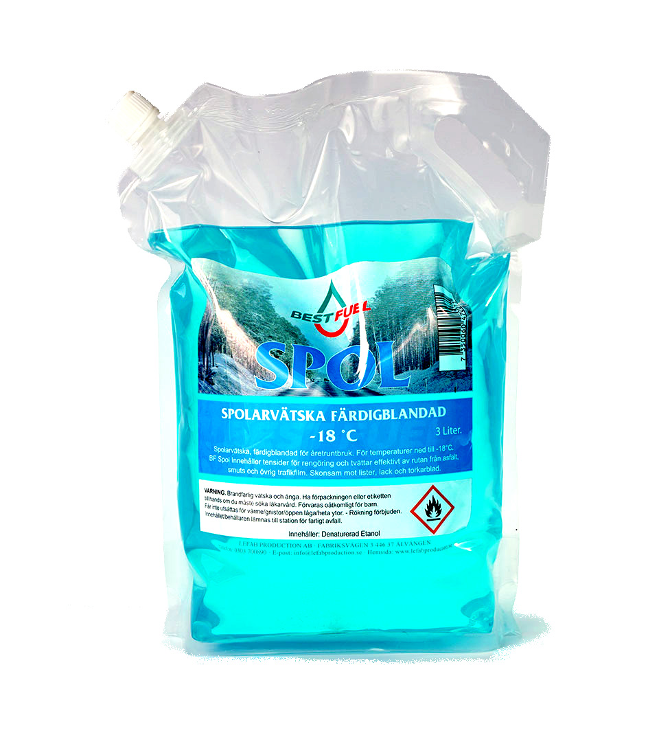 Windscreen Washer Fluid 3 liter